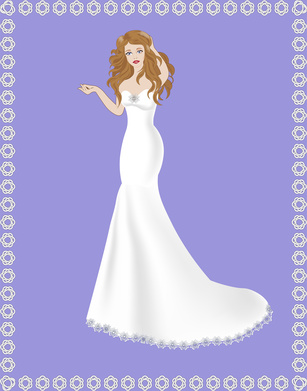bride dress mermaid